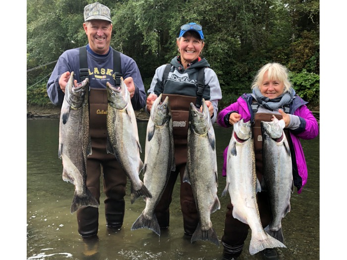 Washington state steelhead salmon fishing charter guide for Salmon fishing in washington
