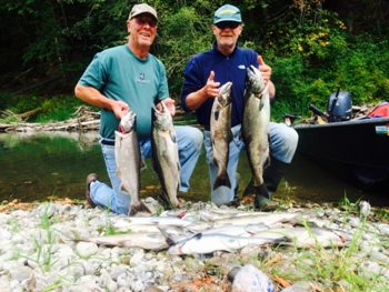 Washington fishing charter and guides photo gallery from for Nisqually river fishing